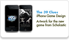 Scholastic's The 39 Clues for iPhone